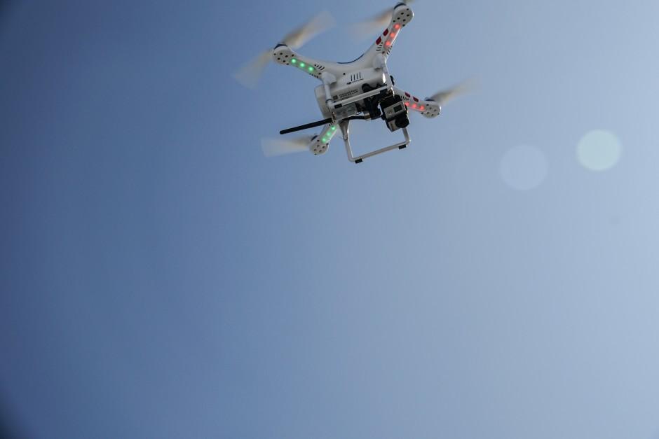 Flugtraining mit der Drohne