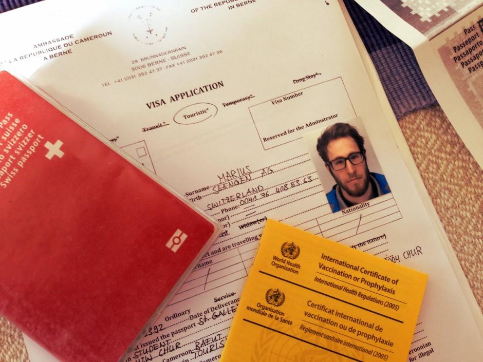 Der erste Schritt: Das Visum